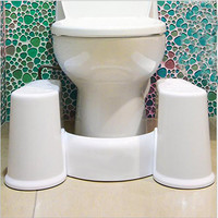 Removable Toilet Stool Non-slip Squat Toilet Tool Comfortable Squat Aid Stool Bowel Movements Crouch Hole Artifact 2016 New