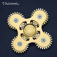 TOUCHMEL Gear Finger Spinner Fidget Toy Stress relief Hand Spinner Metal