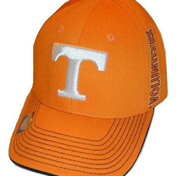 Tennessee Volunteers Structured Adult Cap Orange Volunteers Logo Hat OSFM New
