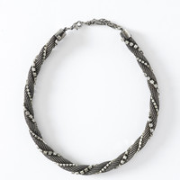 Mesh Necklace - Silver