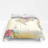Vibrant Floral to Floral Comforters by Famenxt