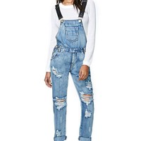 One Teaspoon Awesome Overalls - Cobain