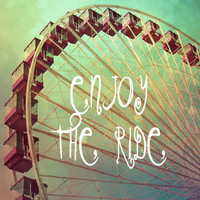 Enjoy The Ride - Ferris Wheel Art Print by MistyMichelleDesign | Society6