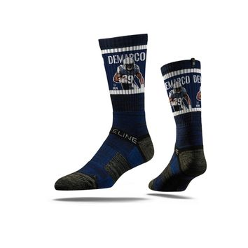 NFLPA - Demarco Murray, Navy - Strideline Crew Socks