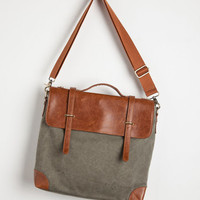 Military, Safari, Travel, Scholastic Rustic Rendezvous Bag by ModCloth