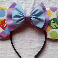Inside out Minnie Mouse Ears