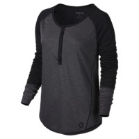 Hurley Dri-FIT Henley Women's Shirt