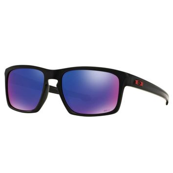 Oakley Sliver Marc Marquez Sunglasses Matte Black Positive Red Iridium OO9262-20