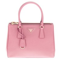 Prada Women's Womens's Saffiano Double-zip Galleria bag Pale Rose Pink