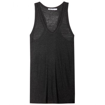 t by alexander wang - classic slubbed tank top