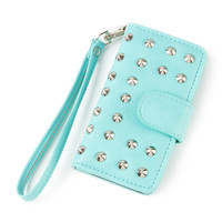 Studded Smartphone Wristlet for iPhone 5 and 5s
