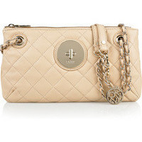 DKNY|Quilted leather shoulder bag|NET-A-PORTER.COM