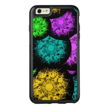 Abstract Neon Bubbles OtterBox iPhone 6/6s Plus Case