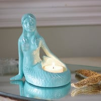 Mermaid Candle Holder