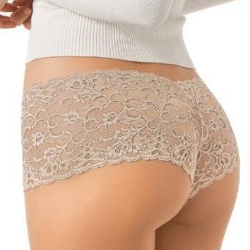 Leonisa Women's All Lace Hiphugger Panty