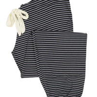 Dockside Stripes Cropped Pants