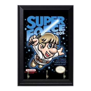 Super Force Bros Luke Decorative Wall Plaque Key Holder Hanger