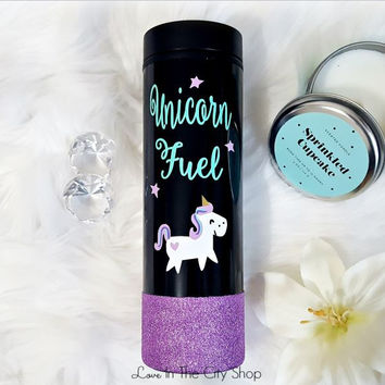 Unicorn Coffee Travel Tumbler