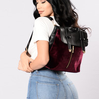 Baby Boo Backpack - Burgundy