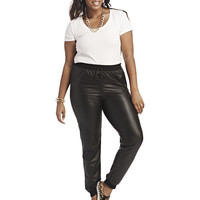 Faux Leather Jogger Pant | Wet Seal+