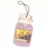 Lemon Lavender Car Jar Air Freshener by Yankee Candle