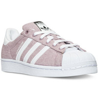 adidas Women's Superstar Casual Sneakers from Finish Line | macys.com