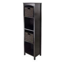 Winsome 3pc Storage 5-Tier Shelf w/ 2 Small Baskets