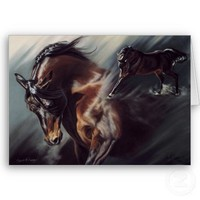 Horse Sympathy Card from Zazzle.com