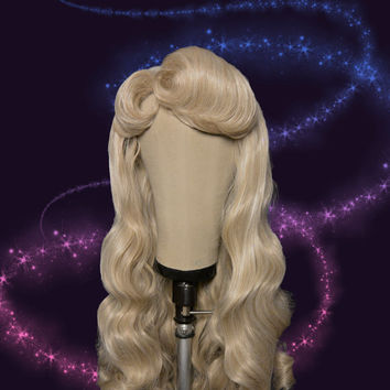 Sleeping Beauty Aurora Wig - Classic Style by Fairytale Wigs