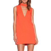 Say It Right Dress in Tangerine