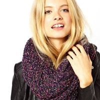 ASOS | ASOS Ribbon Knit Snood at ASOS