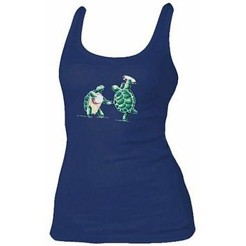 Grateful Dead Womens Terrapin Turtles Tank Top