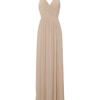 Diamante Strap Maxi Dress | Jane Norman