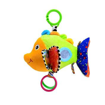 Animal Crib Hanging Toys Newborn Stroller Bell Hanger Infant Bed Cot Hanging Toys for Baby