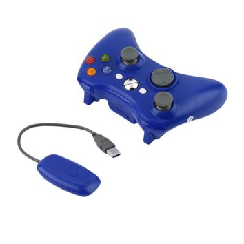 5 Color 2.4G Game Controller Gaming Gamepad PC Joystick for XBOX 360 for Computer for WINDOWSXP WIN 7 8 Jostick Wireless