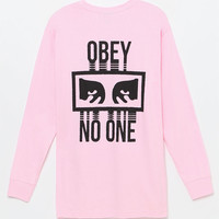 OBEY No One Long Sleeve T-Shirt at PacSun.com