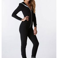 Chill Out Hooded Jumpsuit