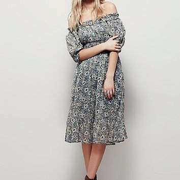 Free People Womens Lily Fields Dress