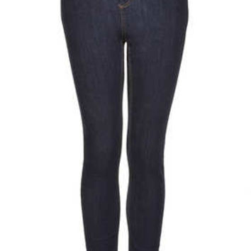 MOTO BLUE RINSE JAMIE HIGH WAISTED JEANS