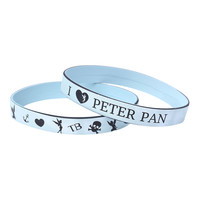 Disney Peter Pan (Heart) Tinker Bell Rubber Bracelet 2 Pack