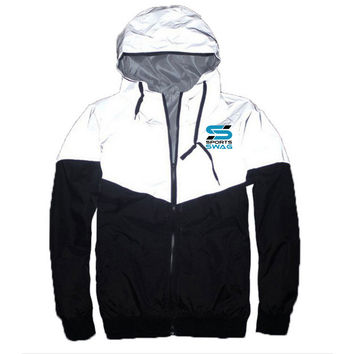 Sports Swag Reflective Windbreaker