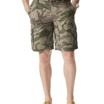 Dockers Cargo Short- True Green - Men's