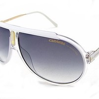 Carrera Endurance/T/S Sunglasses - 0JO7 Crystal White Gold (LF Gray Gradient Lens) - 63mm