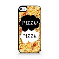 Pizza? Pizza. - Pizza - iPhone 5C Black Case (C) Andre Gift Shop