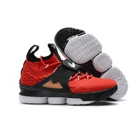 Red Diamond Turf Nike LeBron 15 Diamond Turf Sneakers - Best Deal Online