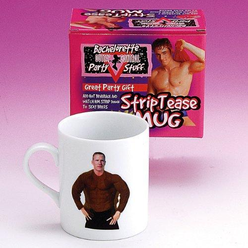Forum Novelties 57699 Bachelorette Party Outta' Control Strip Tease Mug