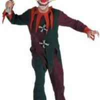 Zombie Clown Scary Costume Small 4-6 NWT