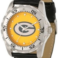 Green Bay Packers NFL Men's Watch & Wallet Gift Set