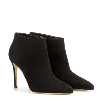 gucci - suede ankle boots