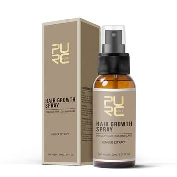 30ml All Natural Ginger Essence Hair Growth Spray
